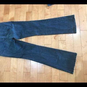 NYDJ Jeans Dark Blue wash Size 10 Indigo